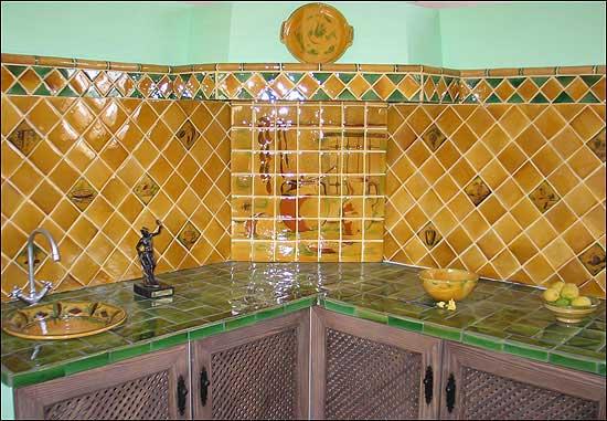 El maestro de obras xavier valderas las cocinas - Azulejos de cocina rusticos ...