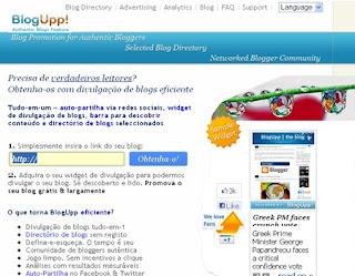 BlogUpp! em português