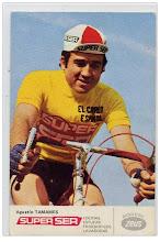 Agustin Tamames con Bici ZEUS
