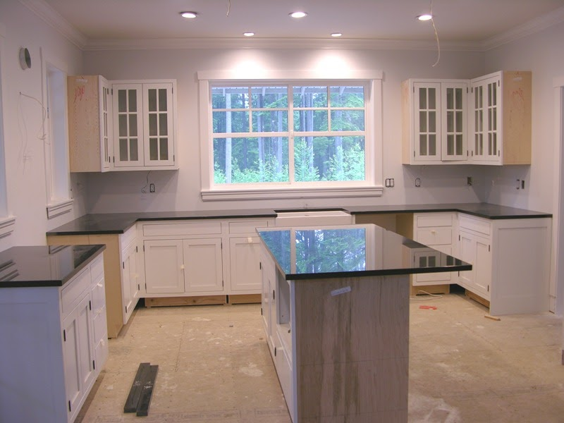 Building a craftsman style farmhouse interior progress for Craftsman farmhouse interior