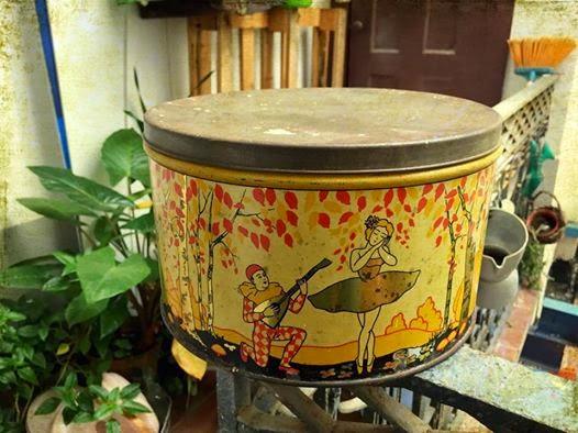 vintage, lata, Regina, rebuçados, drops, colecção, decoração vintage