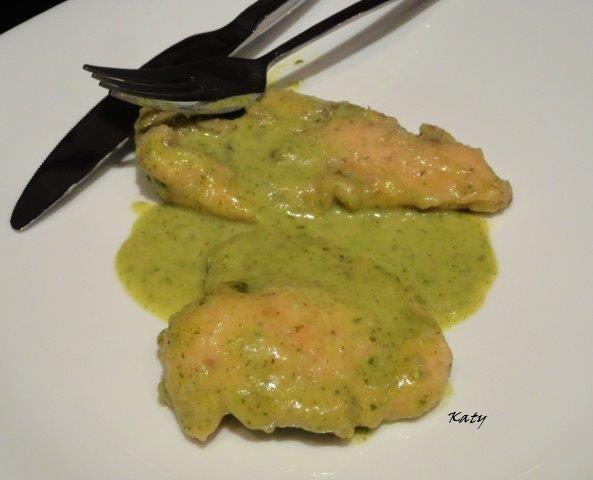 Para hincar el diente k m m k pechugas de pollo en salsa de puerros - Salsas para pechuga de pollo ...