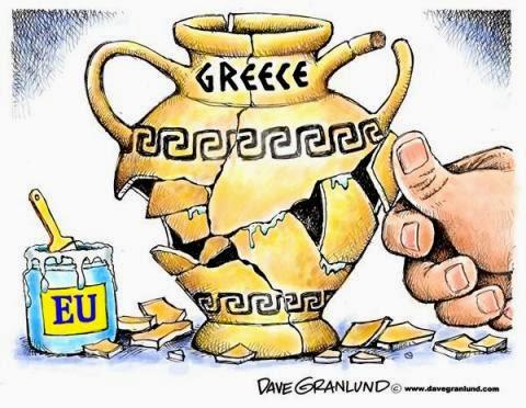 Σκίτσο για το ελληνικό χρέος