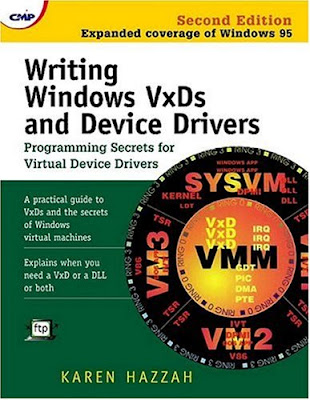 Writing Windows VxDs and Device Drivers Second Edition Cover