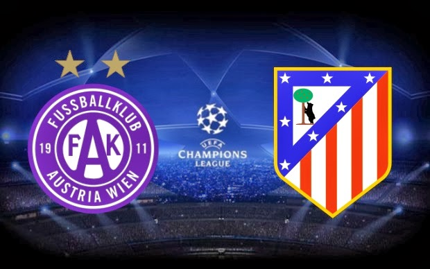 """Atletico Madrid vs Austria Wien"""