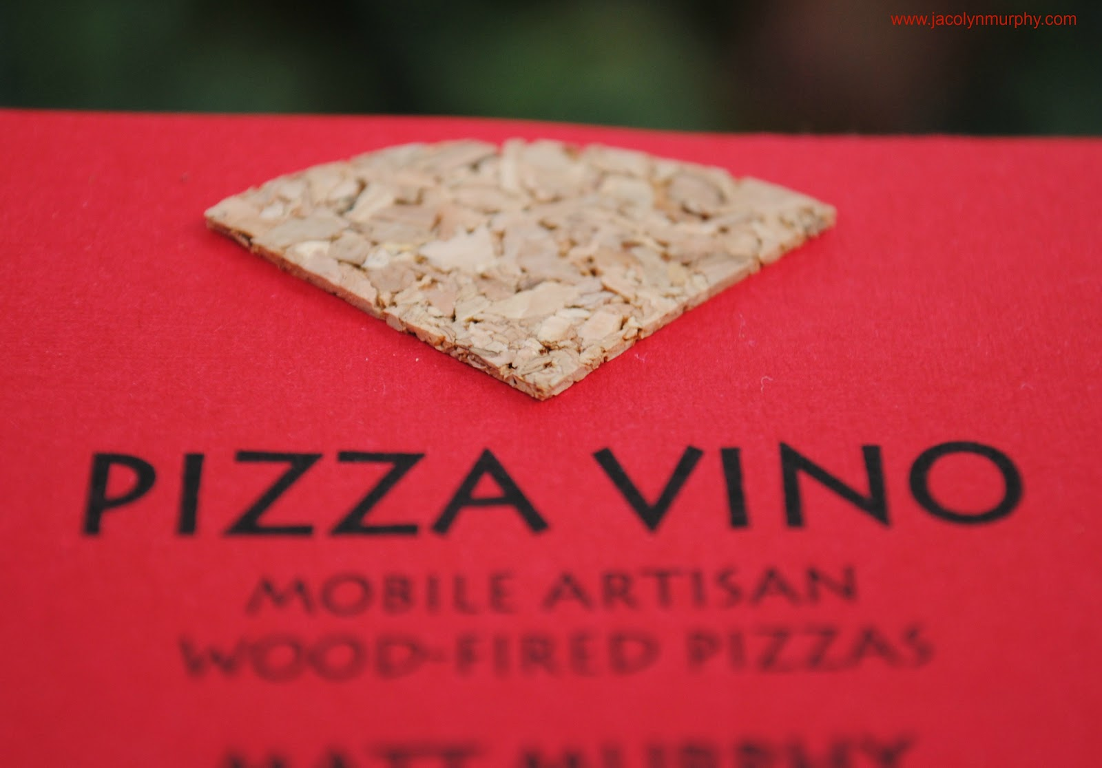 Jac o\' lyn Murphy: Hot out of the Oven...Pizza Vino Business Cards