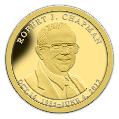 The Late Bob Chapman Gold Coin