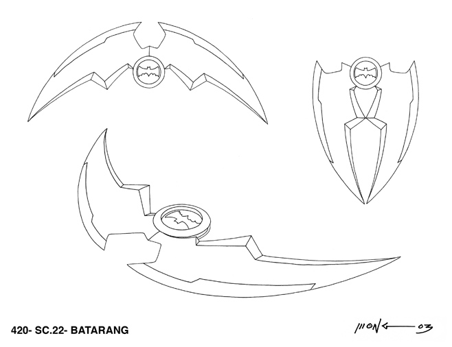 Jeff Wongs Animation Design Work THE BATMAN
