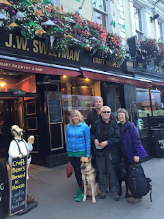 Gena, Mike, Bob and Sue Sweetman at J.W. Sweetman pub