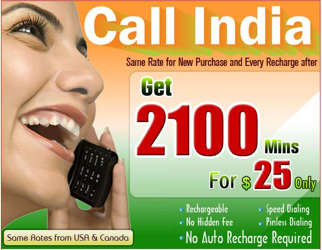 call india calling cards for india - India Calling Card From Usa