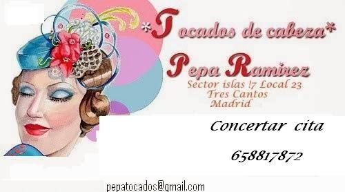 TOCADOS DE CABEZA- Pepa Ramirez