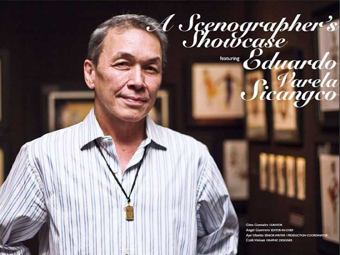 Eduardo Sicangco: Broadway Scenographer And Consummate Artist, TOFA-NY 2012 Awardee For Arts & Culture