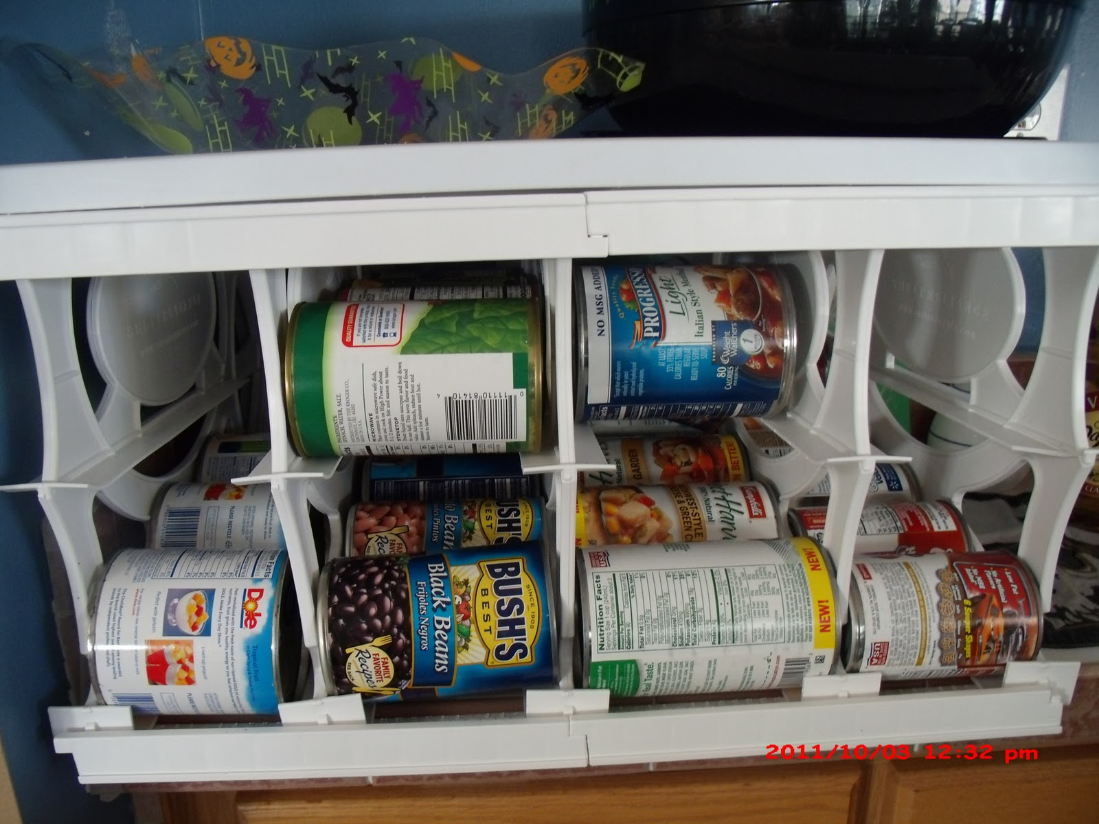 A Lucky Ladybug Shelf Reliance Cansolidator Pantry Review