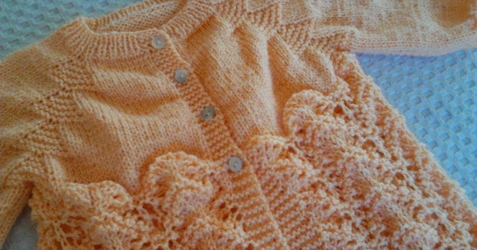 Tejer el arte de crear con tus manos chaqueta para beb 3 a 6 meses - Tejer chaqueta bebe 6 meses ...