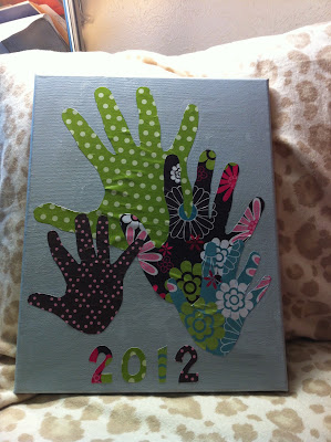 Canvas Handprint