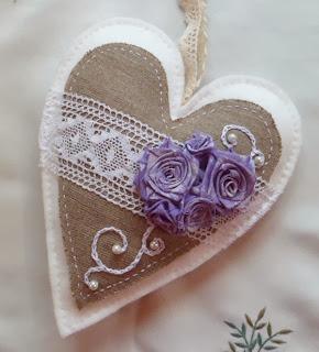 serce z materiału