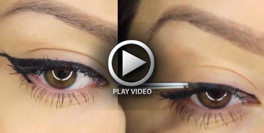 6 eyeliner styles makeup tutorial b g fashion - Comment mettre eye liner ...