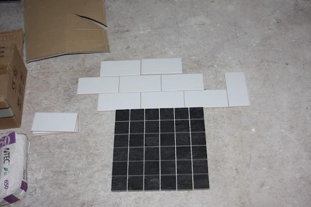 subway bathroom tile