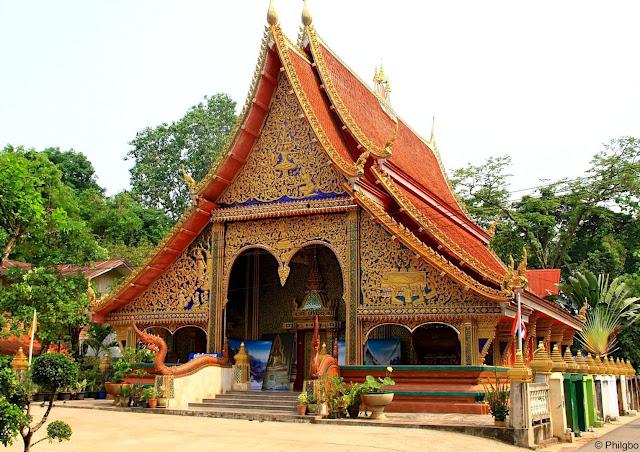 Wat Noen Phra Nao, dans la province de Nong Khai.