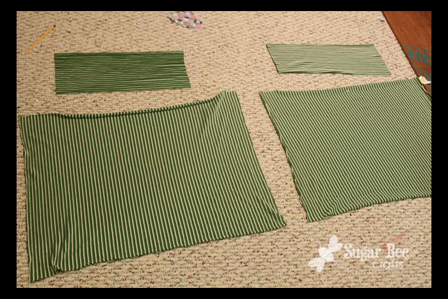 Easy Knit Skirt Tutorial Sugar Bee Crafts