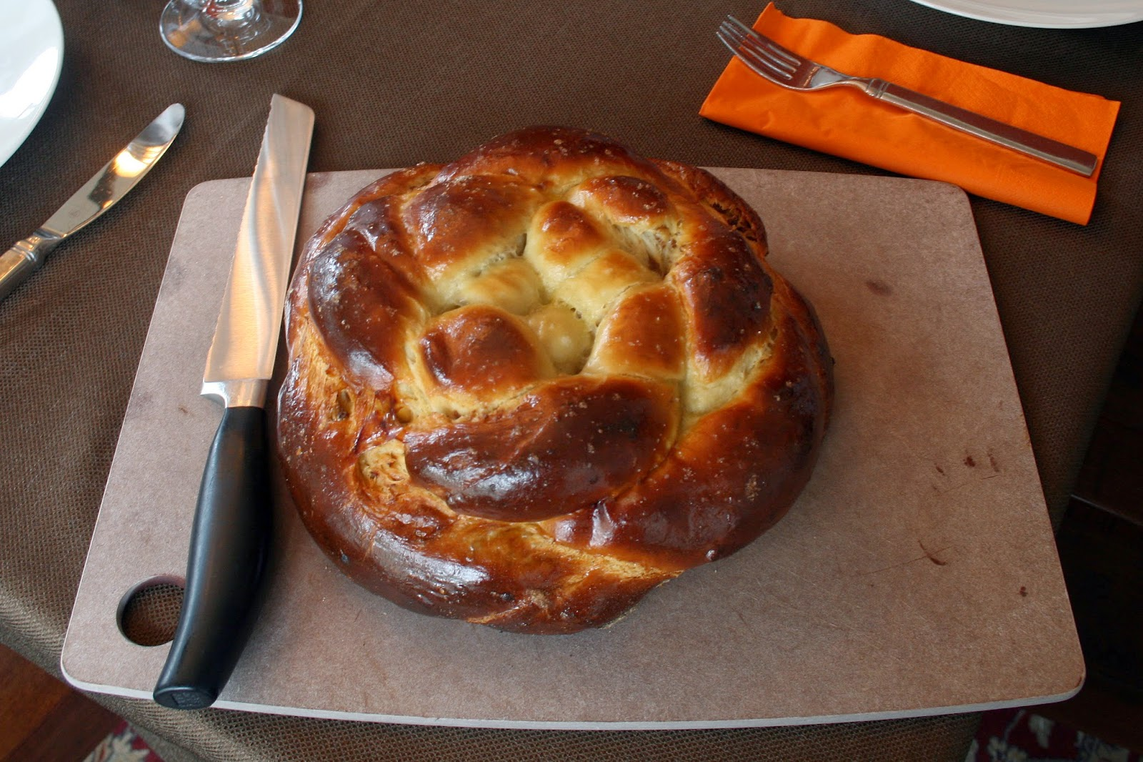 one clever mom: Fig, Olive Oil and Sea Salt Challah