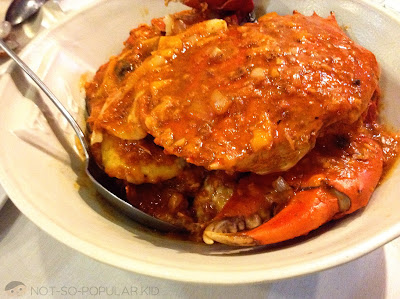 Classic Crab Adobo of Red Crab