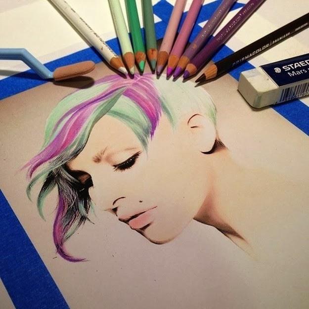 Karla Mialynne Drawings 1
