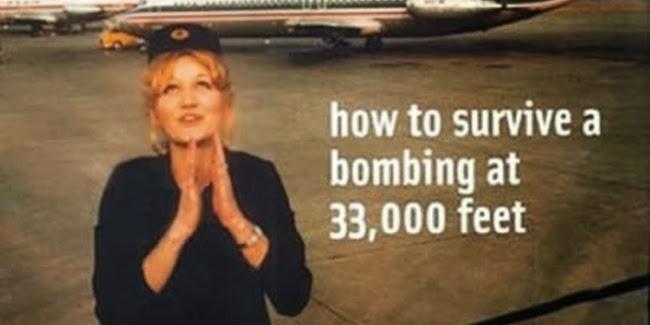 Orang Selamat Jatuh Dari Pesawat