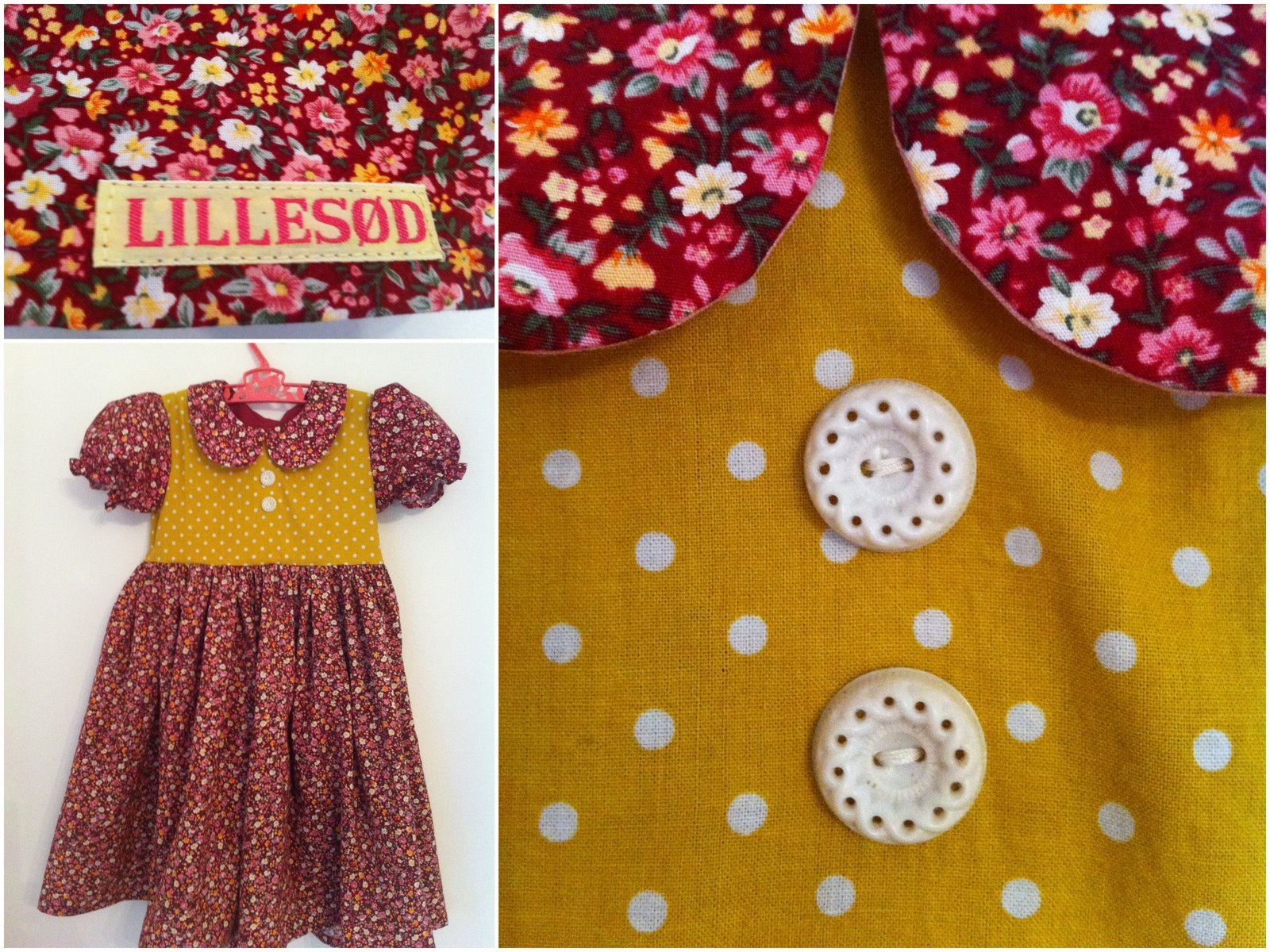 Kjoler med vintage knapper