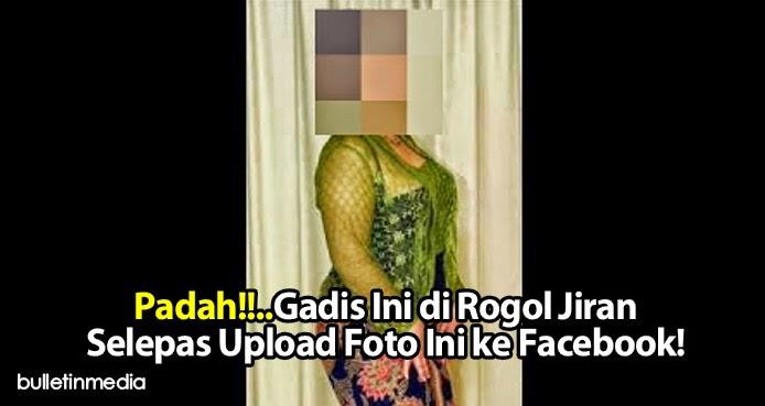 Padah Gadis Ini di Rogol Jiran Selepas Upload Foto Ini ke Facebook