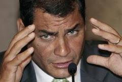 Correa a los medios