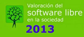 Encuesta sobre el Informe de Valoración del software libre en la sociedad 2013, encuesta portalprogramas, mejor blog de software libre