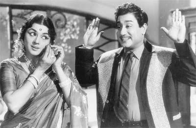 Shivaji Ganesan & 'Natya Peroli' Padmini