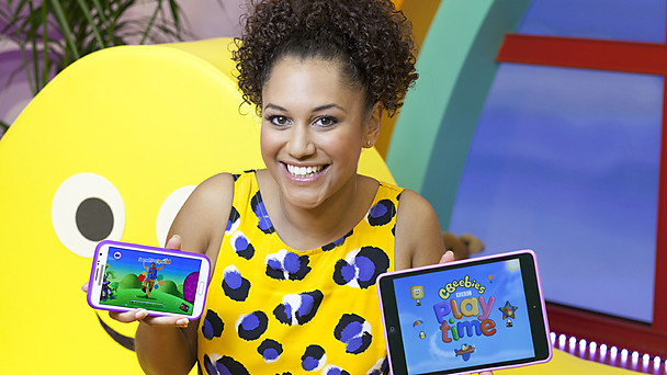 Cat from cBeebies introduces the Playtime App
