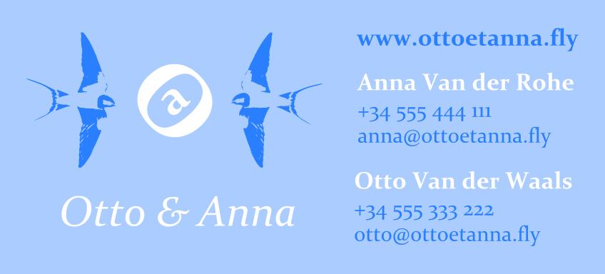 Bárbara Sánchez Portillo - Otto y Anna 1
