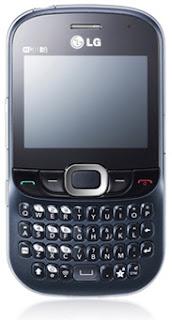 Dual SIM QWERTY Mobile LG C375