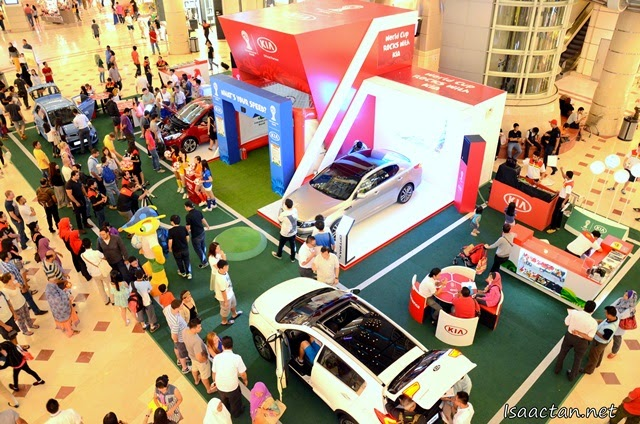 World Cup Rocks With Kia On Tour 2014 @ Suria KLCC