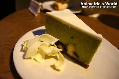 Green Tea and Berry Cheesecake at Starbucks