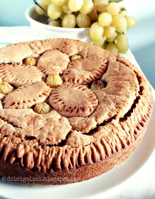 Dolci golosità: Torta crostata d'uva bianca