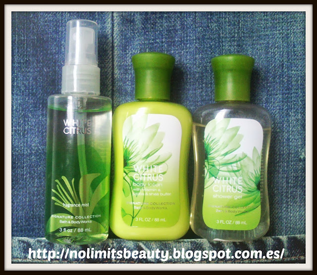 White Citrus de Bath & Body Works