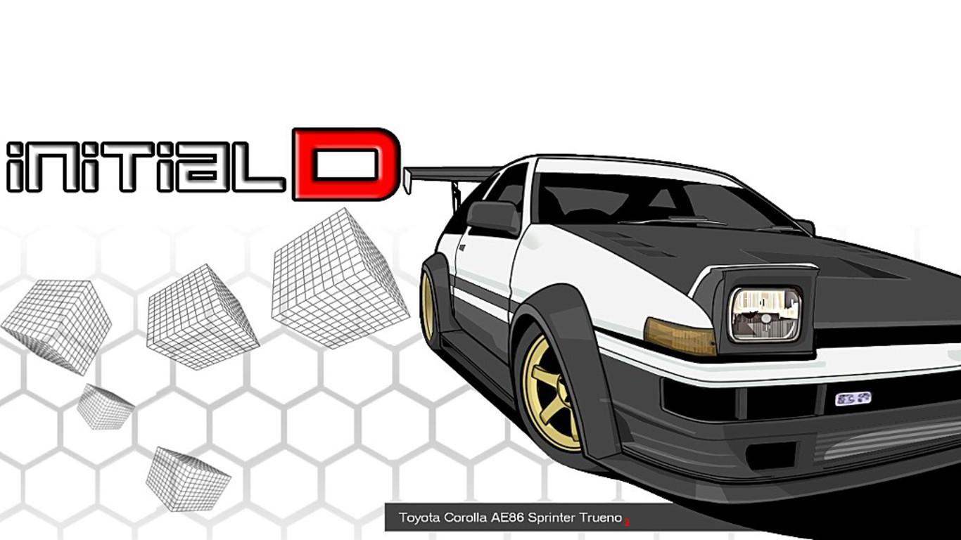 AE86 Initial D HD Wallpaper | Free Download HD Wallpaper