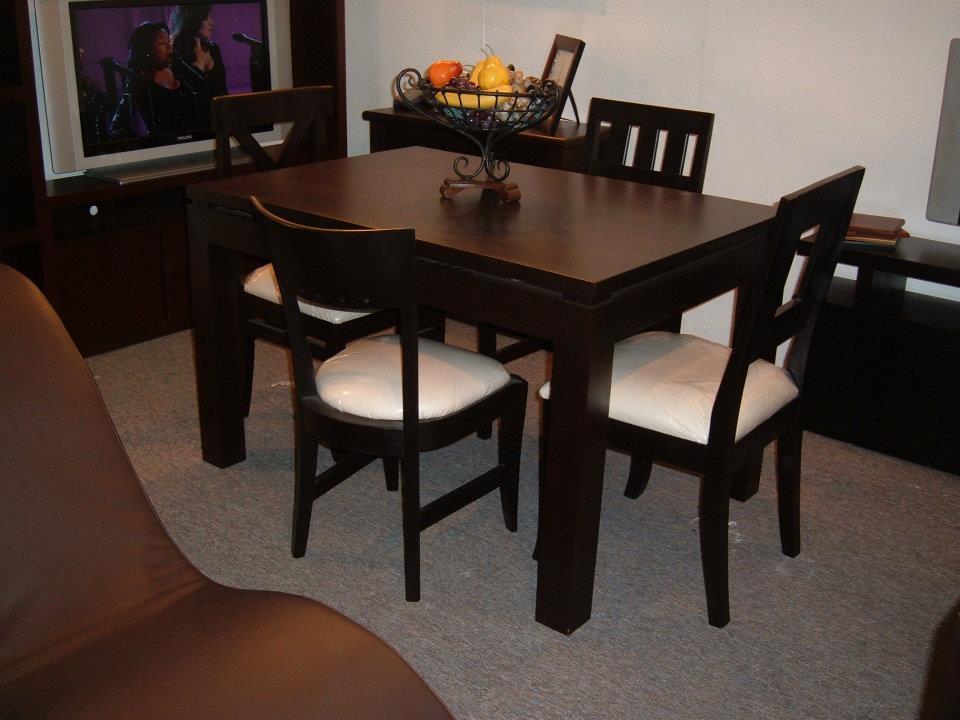 El artesano del mueble juegos de comedor - Comedores modernos para espacios pequenos ...