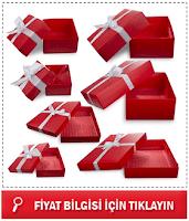 Boş Karton hediye Kutusu