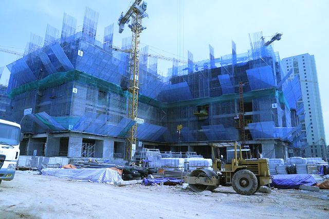 Tiến độ xây dựng GoldMark City