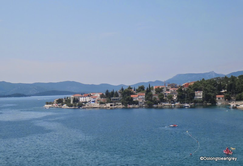 Bay in Croatia, near Bosnian border