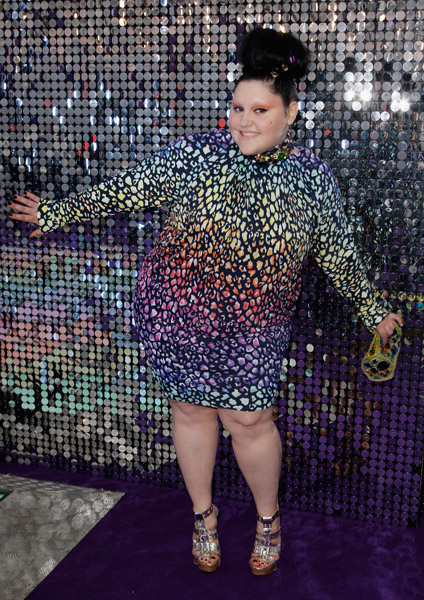 This is beth ditto beth ditto is also beautiful and fat and very