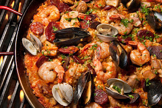 Paella Mixta Recipe | Quick Healthy Paella Recipe