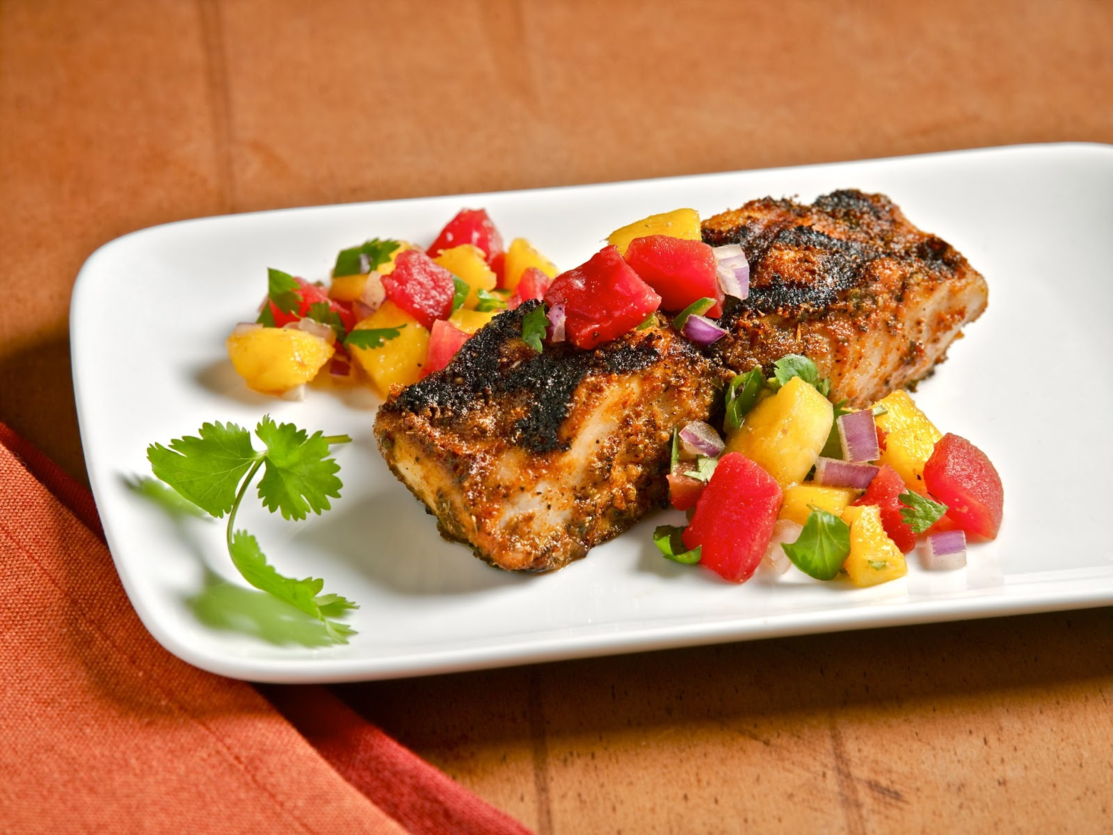 The weekend gourmet guest post the perfect summer fish for Gourmet fish recipes