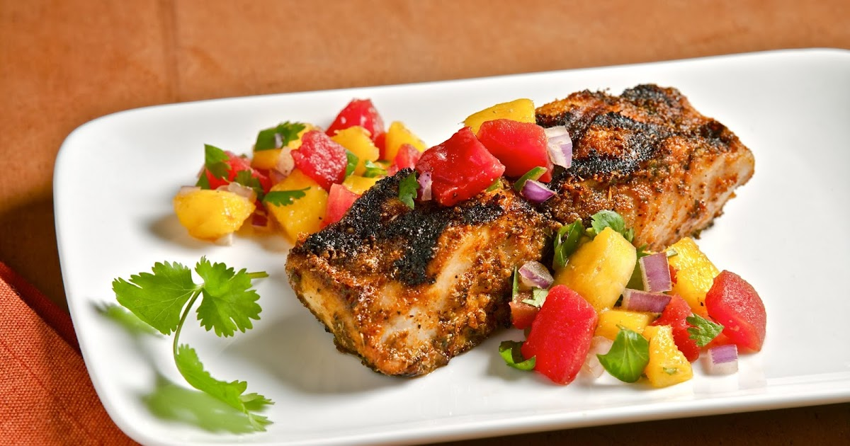 ... ...The Perfect Summer Fish Dish: Blackened Mahi Mahi with Mango Salsa