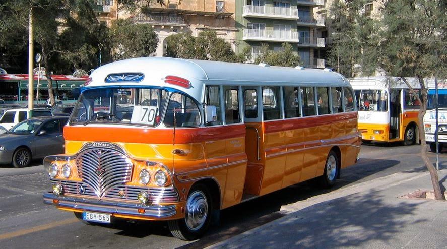 Yellow Bus Malta